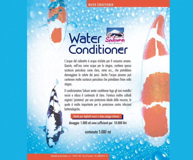 Sakura Water Conditioner 5.000 ml