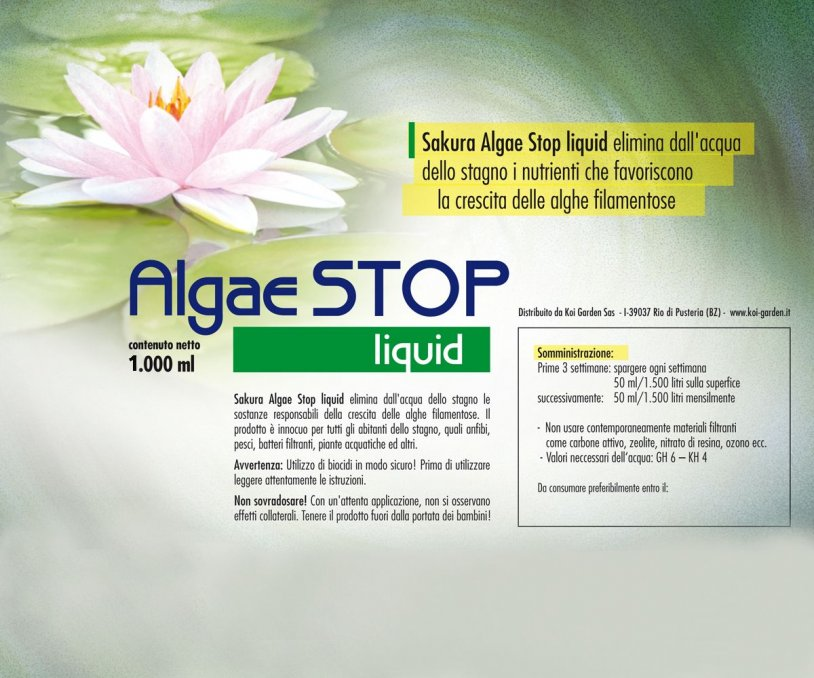 Sakura Algae STOP Liquid 1.000 ml